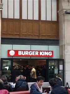 Restaurant Gare Saint Lazare : burger king paris saint lazare 13 rue d 39 amsterdm ~ Carolinahurricanesstore.com Idées de Décoration