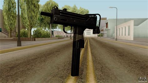 original hd micro smg  gta san andreas