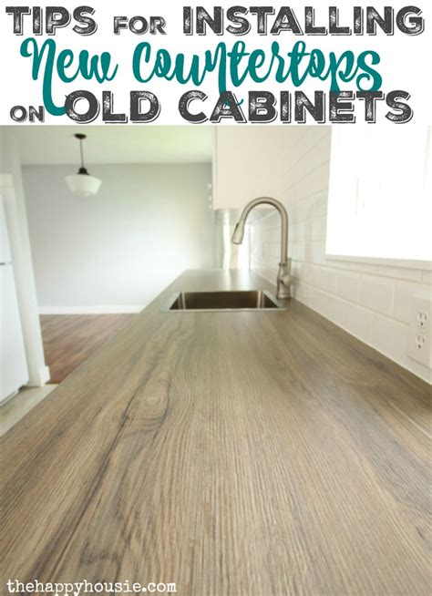 do you install kitchen cabinets before flooring how to install new countertops on cabinets the happy 9861