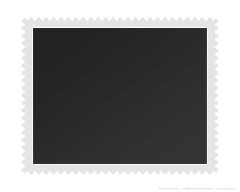 Blank postage stamp   PSDGraphics