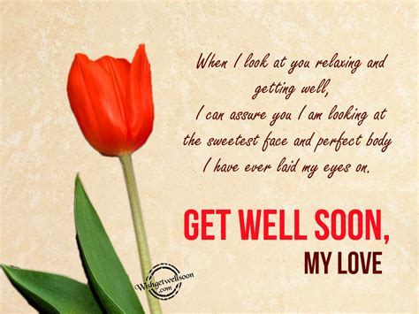 Get Well Soon Quotes For My Husband