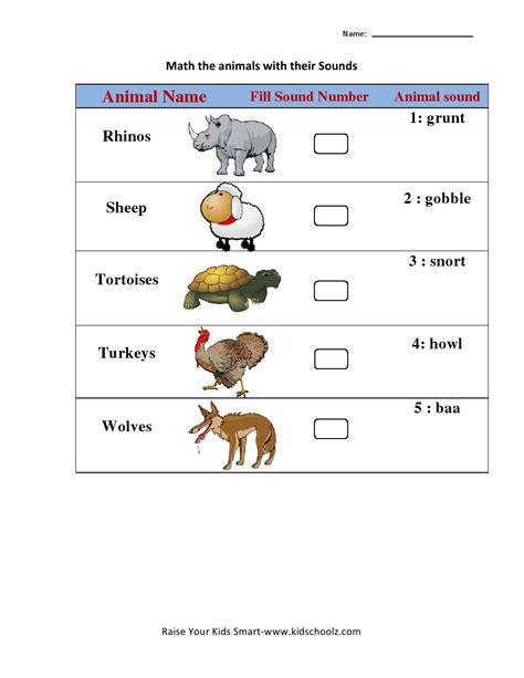 free baby animals matching worksheet goodsnyc