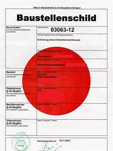 Kosten Statiker Hausbau : aileen und patrick bauen baustellenschild ~ Lizthompson.info Haus und Dekorationen