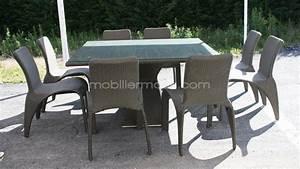 Ensemble Table Et Chaise De Jardin : roter dining chaises et table manger de jardin k hres ~ Teatrodelosmanantiales.com Idées de Décoration