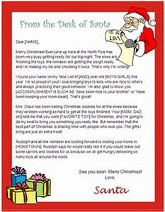 1000 images about Printable Santa Letters on Pinterest