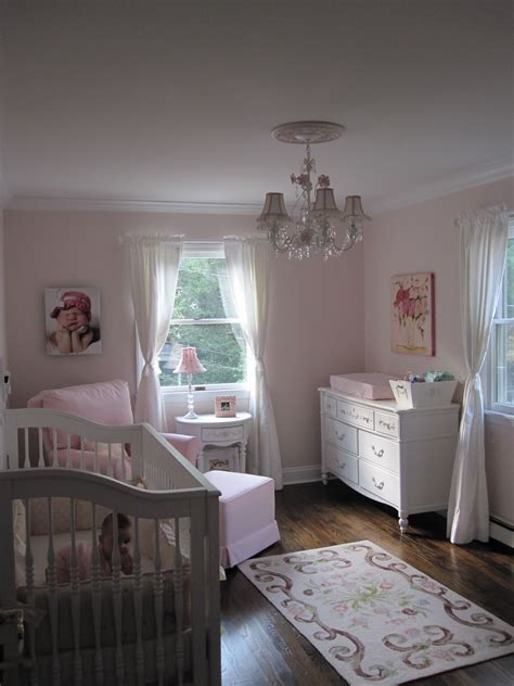 Ava's Pink and White Shabby Chic Nursery Project Nursery