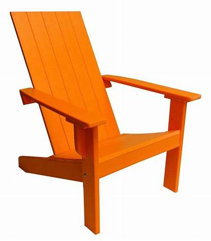 Adirondack Modern Chair Chairs Poly Square Outdoor