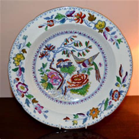 "Masons Flying Bird 10 1/2"" soup bowl c 1830 1840   Antique"