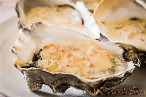 cuisiner des huitres huîtres chaudes à la crème les petits plats de mélina