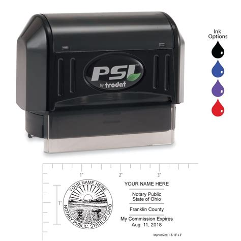 ohio notary stamp order  fast shipping notarynet
