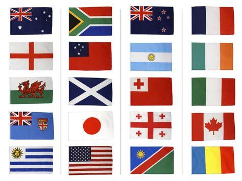 kit drapeaux coupe du monde de rugby 2015 30 x 45 cm maison des drapeaux