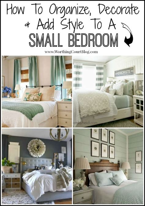 Decorating Ideas For Small Bedrooms by How To Decorate Organize And Add Style To A Small Bedroom