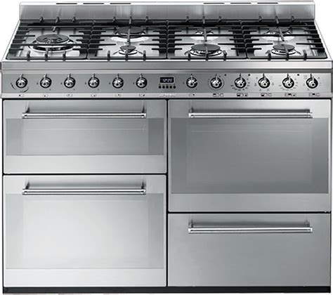 Buy Smeg Symphony Syd4110 110 Cm Dual Fuel Range Cooker