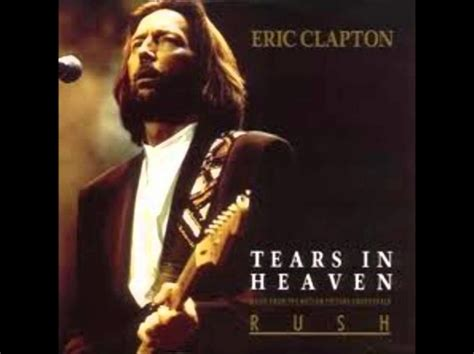 Eric clapton tears in