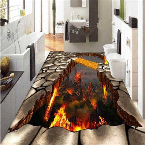 creative modern design volcano pattern nonslip