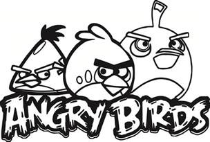 HD wallpapers angry birds black bird coloring pages