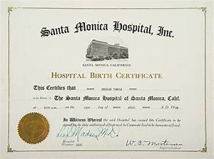 official birth certificate wwwpixsharkcom images With hospital birth certificate template