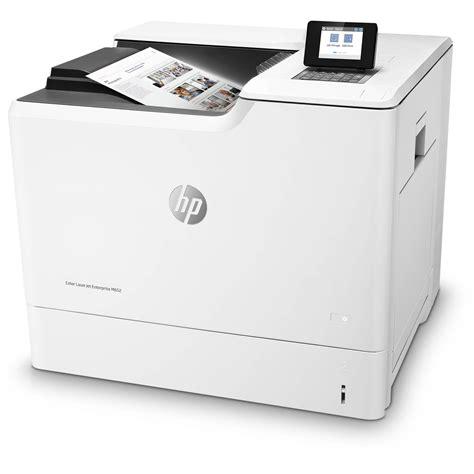 color laser hp color laserjet enterprise m652dn laser printer j7z99a b h