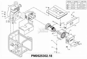 Powermate Formerly Coleman Pm0525302 18 Parts Diagram For