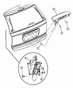 Dodge Grand Caravan Motor And Gear  Power Liftgate  With Actuator And Arm Kit  Without