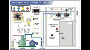 Animated Refrigeration System With Explanation Of