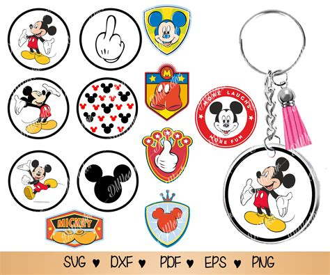Maybe you would like to learn more about one of these? Round Keychain svg cartoon character Keychain svg png pdf ...