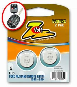2 - Keyless Remote Batteries for Ford Mustang Key Fob 1999 2014 for sale online   eBay