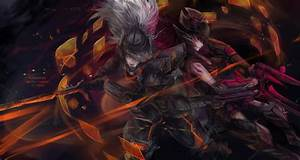 LoL: PROJECT Yasuo and Headhunter Caitlyn by Fiveonthe on ...