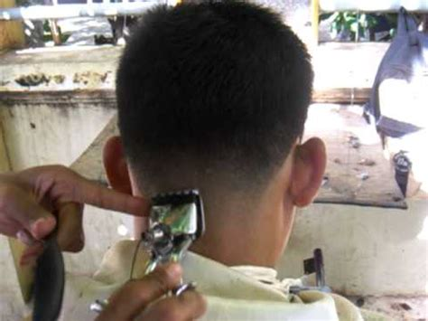 young man military haircut  youtube