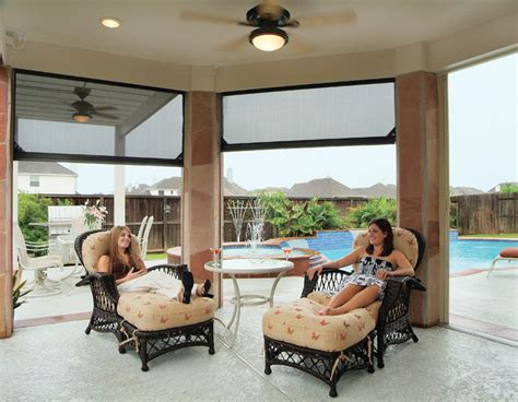 motorized retractable screens for patios porches