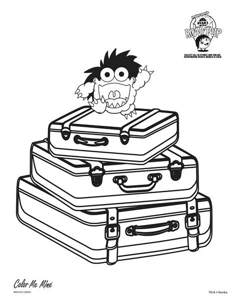 Free printable ryan's world coloring pages. Ryan's World Coloring Fun! - Denville