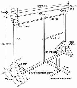 PDF How To Build A Free Standing Wooden Clothes Rack Plans