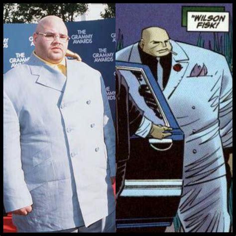 Fat Joe Meme - who wore it better fat joe at the 99 grammys or wilson fisk aka the kingpin funny
