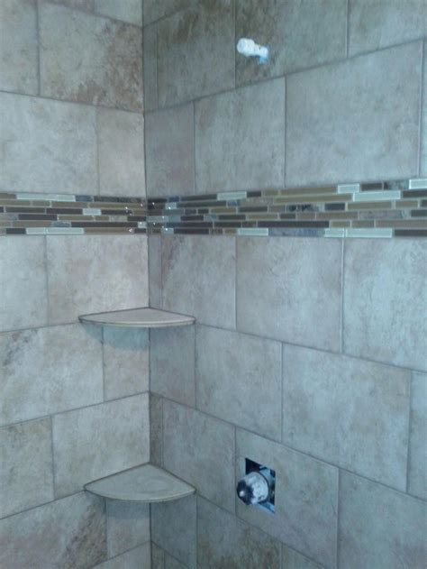 Pictures Of Bathroom Wall Tiles by This Digital Photography Of Brick Pattern Tile Shower With