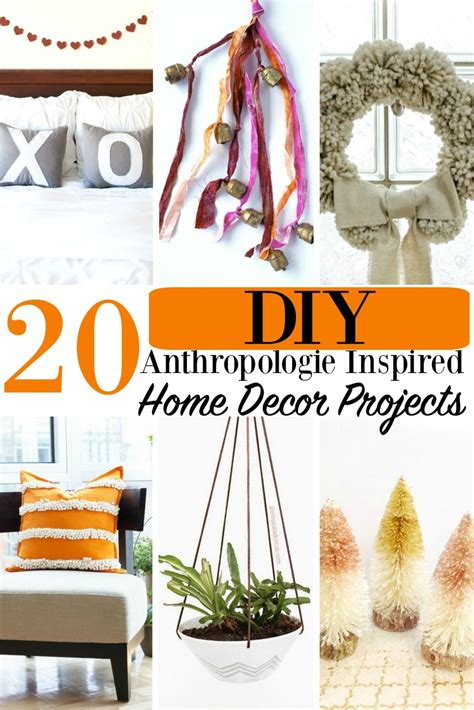 anthropologie home decor 20 diy anthropologie inspired home decor projects