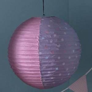 Suspension Boule Japonaise : lustre suspension boule japonaise lampion en tissu lampe pivoines ~ Teatrodelosmanantiales.com Idées de Décoration