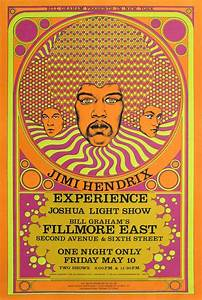 Jimi Hendrix Experience Concert Poster | Limited Runs