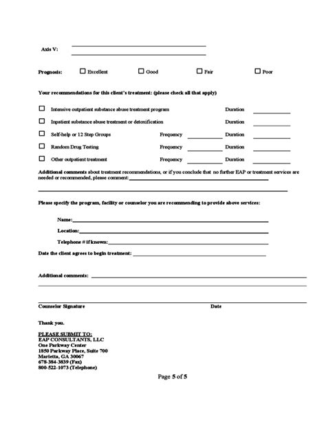 substance abuse assessment template substance abuse assessment form free