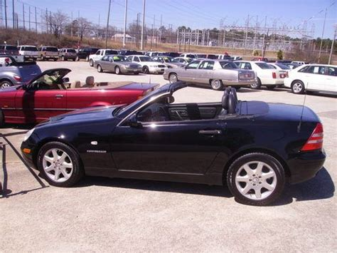 Buy Used 1999 Mercedes Slk 230 Kompressor Convertible Only
