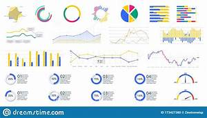 Modern Infographic Template With Stock Diagrams And