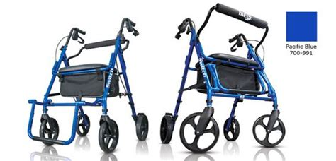hugo 174 switch 2 in 1 rollator and transport chair hugo