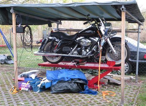 motorradgarage selber bauen motorradgarage selber bauen tipps und tricks werkstatt