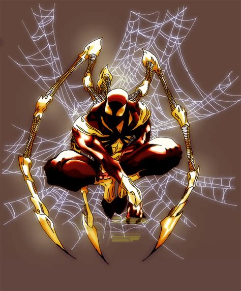 Iron Spider Background by Iron Spider Wallpaper Wallpapersafari