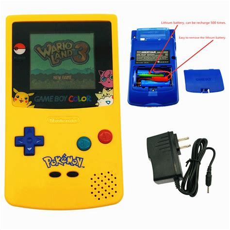 Rechargeable Pokemon Limited Edition Nintendo Game Boy