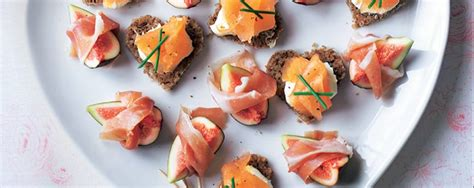 canapé 2places smoked salmon canapés asda living