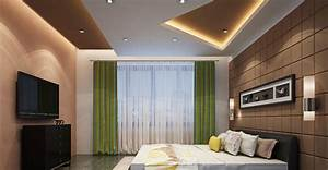 Bedroom false ceiling gypsum board drywall plaster