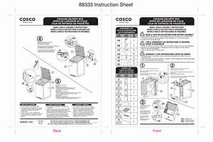 Cosco 88333gcg1e Outdoor Living Boxguard Large Lockable