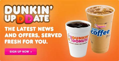 Get A Free Medium Beverage At Dunkin' Donuts! I Love Coffee Apk Stumptown Vancouver Washington Italian Drinks Roasters New York Ny West 8th Biscuits Recipe In A Cup Express Machine