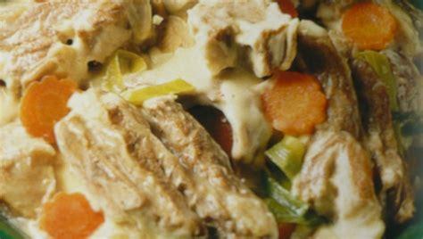 cuisine basse temperature philippe baratte blanquette de veau blogs de cuisine