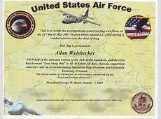 flag flown certificate template Militarybraliciousco
